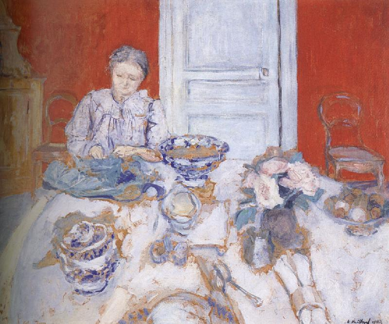 Edouard Vuillard Vuillard mother